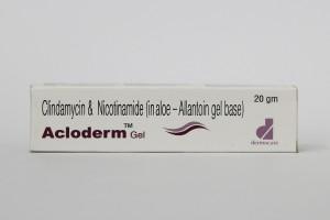 ACLODERM GEL